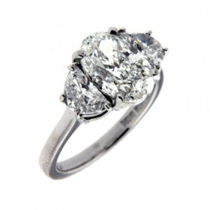 Diamonds and engagement rings