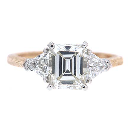 Side stones for your diamond ring