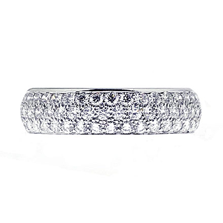 Pretty Pave Rings, the beauty of small diamonds