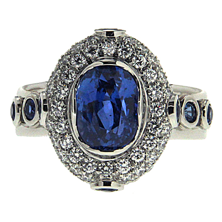 Gems add different types of luster on rings