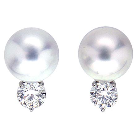 10mm South Sea Pearl Earrings