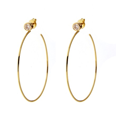 Hoop Earrings Are Back and Why