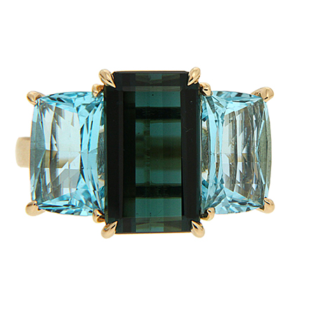 Colored Gems on engagement rings and Their Symbolic Meanings