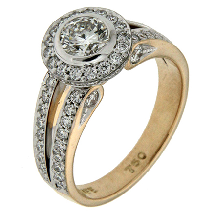 Mixed Metals: A Hot Summer Trend in Engagement Rings