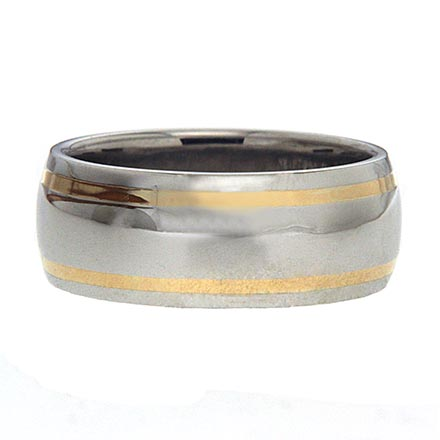 One on Men's Wedding Bands