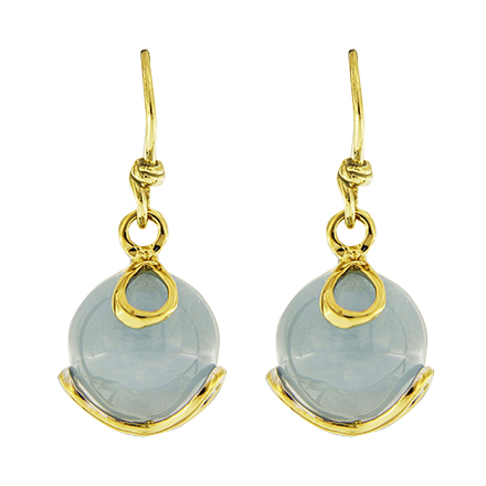 Carina Aquamarine Drop Earrings