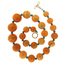 Amber Ball Necklace