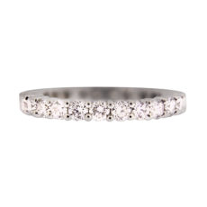 Common Prong Diamond Eternity Band