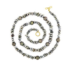 Keshi and Baroque Tahitian Pearl Necklace